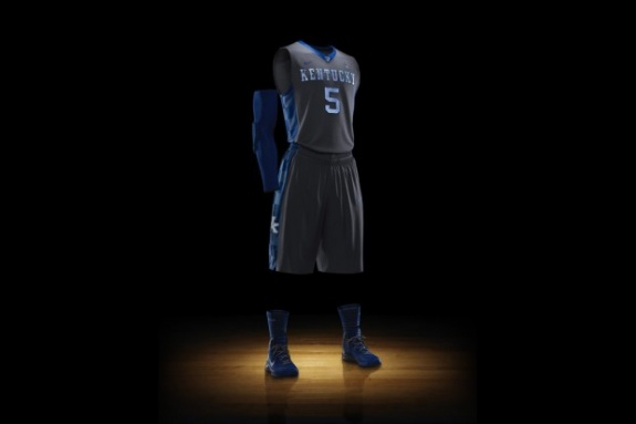 Kentucky Nike Elite Uniform