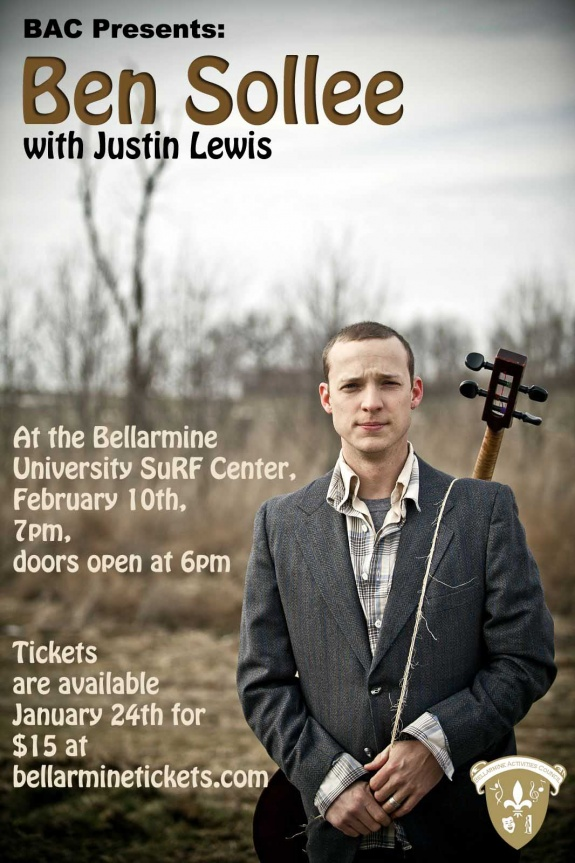 Ben Sollee at Bellarmine University