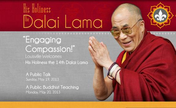 Dalai Lama Louisville KFC Yum! Center