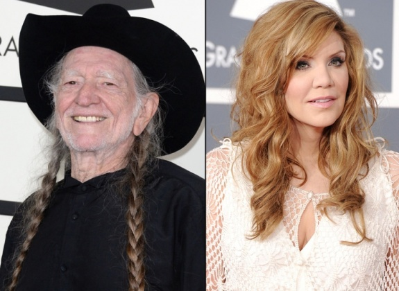 Willie Nelson and Allison Krauss