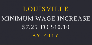 Louisville MInimum wage Increase