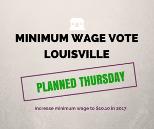 Minimum Wage Vote Louisville